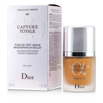 christian dior capture totale radiance base de maquillaje serum restaurador spf15 040 honey. Black Bedroom Furniture Sets. Home Design Ideas