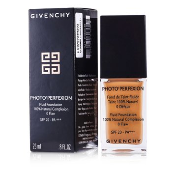 Givenchy Photo Perfexion Base Maquillaje FluidaSPF 20 - # 8 Perfect Amber