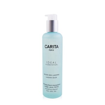 Carita Ideal Hydration Lagoon Gelee Energising Cleanser For Face, Eyes and Lip - Desmaquillador Rostro, Ojos y Labios