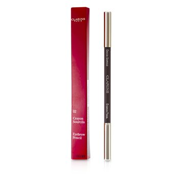 Clarins Lápiz Cejas - #02 Light Brown