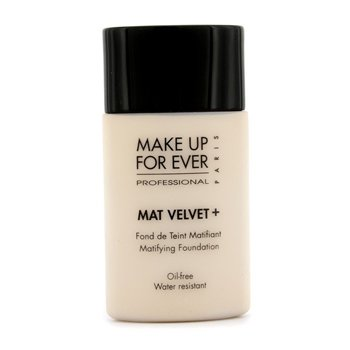 Make Up For Ever Mat Velvet + Base Maquillaje Matificante - #20 (Ivory)