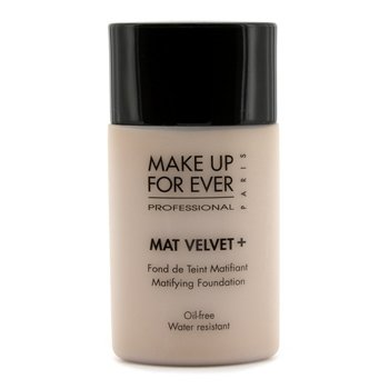 Make Up For Ever Mat Velvet + Base Maquillaje Matificante - #50 (Sand)