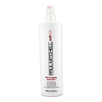 Paul Mitchell Soft Style Gel Estilo Flexible Esculpido Suave