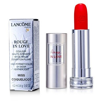 Lancome Rouge In Love Pintalabios - # 146B Miss Coquelicot