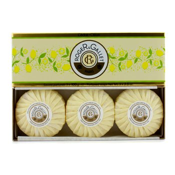 Cedrat (Citron) Perfumed Soap Coffret