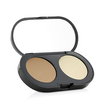 Bobbi Brown New Creamy Corrector Kit - Honey Corrector Cremoso + Polvos Prensados Acabado amarillo