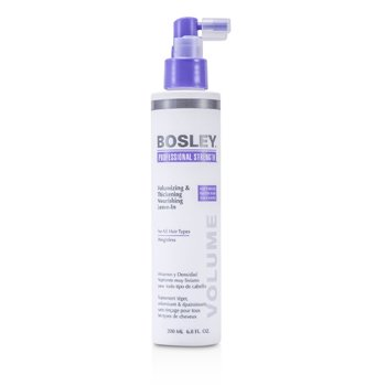 Bosley Professional Strength Volumizing & Thickening Nourishing Leave-In