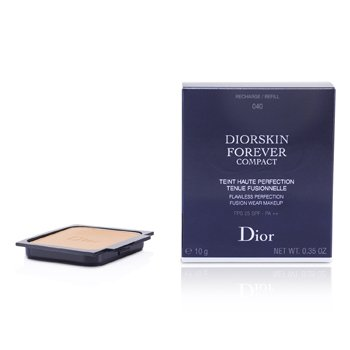 Christian Dior Diorskin Forever Compact Flawless Perfection Fusion Wear Maquillaje SPF 25 Recambio - #040 Honey Beige