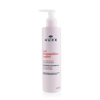 Nuxe Comforting Cleansing Milk With Rose Petals (Normal To Dry, Sensitive Skin)