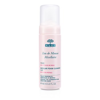 Micellar Foam Cleanser With Rose Petals (Normal to Combination, Sensitive Skin)
