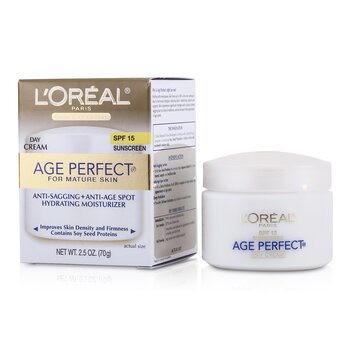 LOreal Skin Expertise Age Perfect Hydrating Hidratante SPF 15 (Piel Madura)