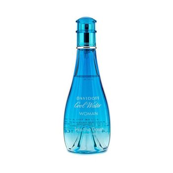 Davidoff Cool Water Into the Ocean Eau De Toilette Spray (Edición Limitada 2013)