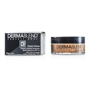 Dermablend Base en Crema Espectro Amplio SPF 30 (Alta Cobertura de Color) - Honey Beige