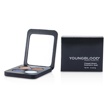 Youngblood Sombra de Ojos Mineral Compacta Cuádruple - Glamour Eyes