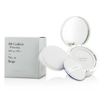 Laneige Base BB Acolchada (Blanqueadora) SPF 50 With Repuesto Extra - # No. 21 Natural Beige