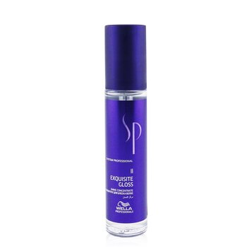 Wella SP Exquisite Gloss Concentrado de Brillo (Para Cabello Brillante, Liso)