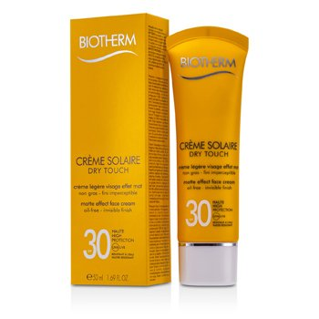 Biotherm Creme Solaire SPF 30 Dry Touch UVA/UVB Crema Facial Efecto Mate
