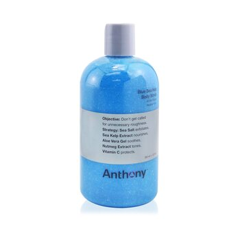 Anthony Logistics For Men Exfoliante Corporal de Quelpo de Mar Azúl