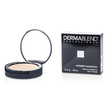 Dermablend Intense Powder Camo Base Compacta (Cobertura Media Edificable a Alta) - # Caramel
