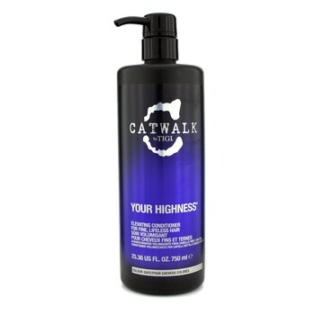 Tigi Catwalk Your Highness Elevating Acondicionador - Para Cabello Fino, Sin Vida