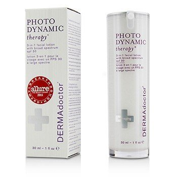 DERMAdoctor Photodynamic Therapy Loción Facial 3-En-1 SPF 30