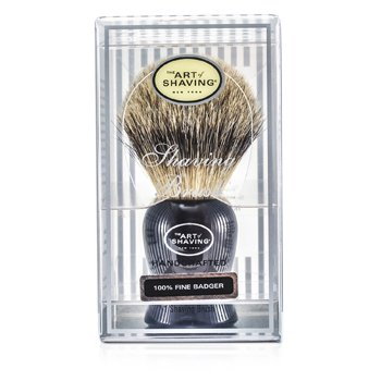 The Art Of Shaving Fine Badger Brocha de Afeitar - Black
