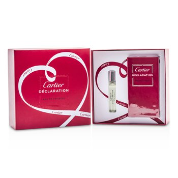 Cartier Declaration Coffret: Eau De Toilette Spray 50ml + Eau De Toilette Spray 9ml