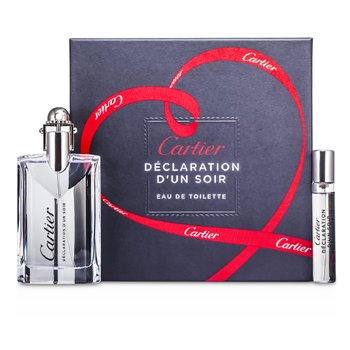 Cartier Declaration dun Soir Coffret: Eau De Toilette Spray 50ml + Eau De Toilette Spray 9ml