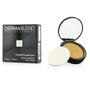 Dermablend Intense Powder Camo Base Compacta (Cobertura Media Edificable a Alta) - # Olive