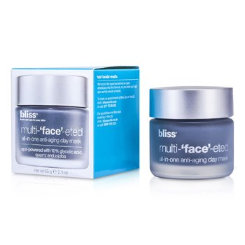 Bliss Multi-Face-Eted All-In-One Anti-Aging Clay Mask
