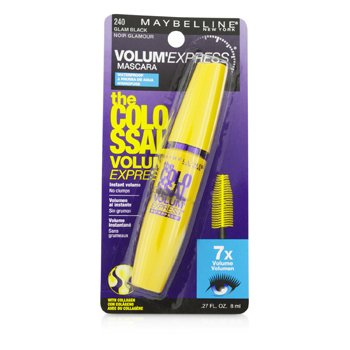 Volum' Express The Colossal Waterproof Mascara - #Glam Black
