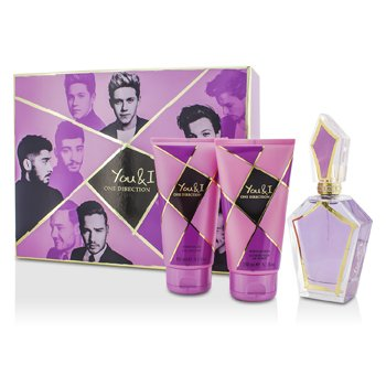 One Direction You & I Coffret: Eau De Parfum Spray 100ml + Loción Corporal 150ml + Gel de Ducha 150ml