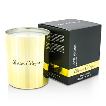 Atelier Cologne Bougie Vela - Gold Leather