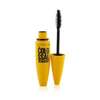 Maybelline Volum Express The Colossal 100% Black Máscara