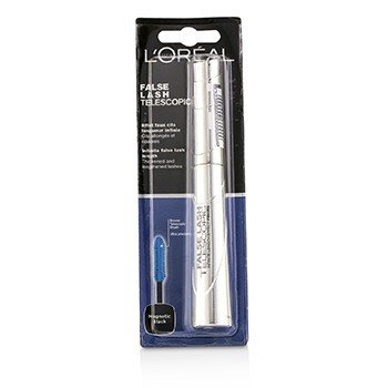 LOreal False Lash Telescopic Máscara - Magnetic Black