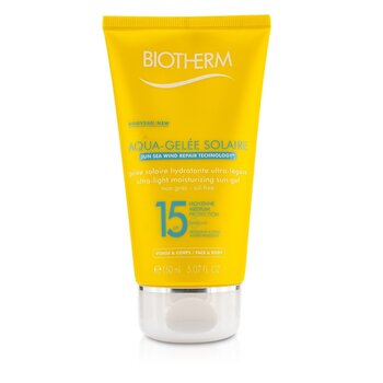 Biotherm Gel Solar Humectante Ultra Ligero SPF15 (Aquagelee)
