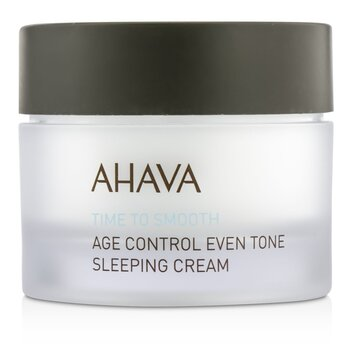 Ahava Time To Smooth Crema para Dormir Tono Parejo Control Edad