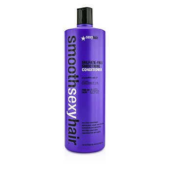 Sexy Hair Concepts Smooth Sexy Hair Acondicionador Alisante Libre de Sulfato (Anti Frizz)
