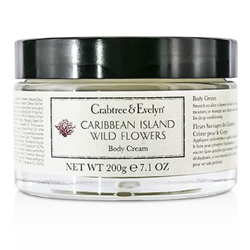 Crabtree & Evelyn Caribbean Island Wild Flowers Crema Corporal