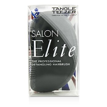 Tangle Teezer Salon Elite Cepillo Desenredante Profesional  - Midnight Black (Para Cabello Húmedo & Seco)