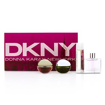 DKNY House Of DKNY Coffret Miniaturas: City, Be Delicious, Energizing, Golden Delicious