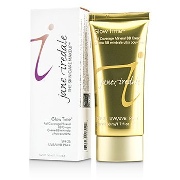 Jane Iredale Glow Time  Crema BB  Mineral Cobertura Total SPF 25 - BB6