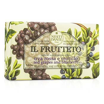 Nesti Dante Il Frutteto Jabón Iluminante - Red Grapes & Blueberry