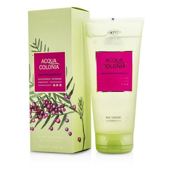 4711 Acqua Colonia Pink Pepper & Grapefruit Aroma Shower Gel