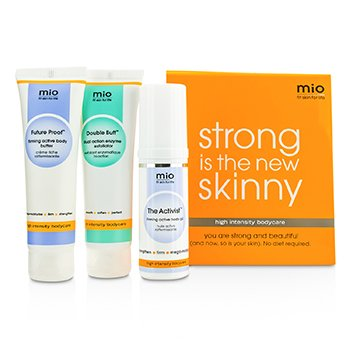 Mama Mio Strong Is The New Skinny Set: The Activist 30ml + Double Buff 50ml + Future Proof 50ml