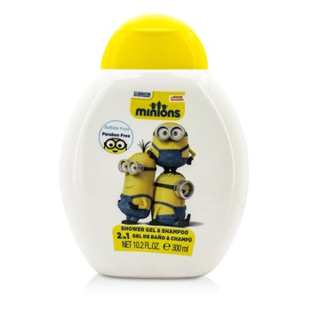 Air Val International Minions 2 En 1 Gel de Ducha & Champú