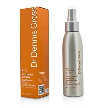 Dr Dennis Gross Sheer Mineral Sun Spray SPF 50+
