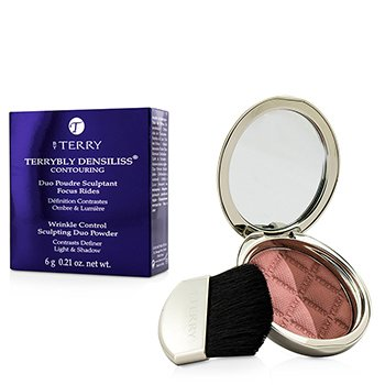 By Terry Terrybly Densiliss Blush Contouring Duo Powder - # 300 Peachy Sculpt