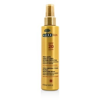 Nuxe Nuxe Sun Milky Spray For Face & Body Medium Protection SPF 20