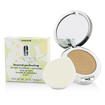 Clinique Beyond Perfecting Base en Polvo + Corrector - # 06 Ivory (VF-N)